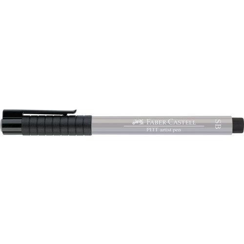 Faber Castell Tekenstift Faber-Castell Pitt Artist Pen Soft Brush 272 warm grijs