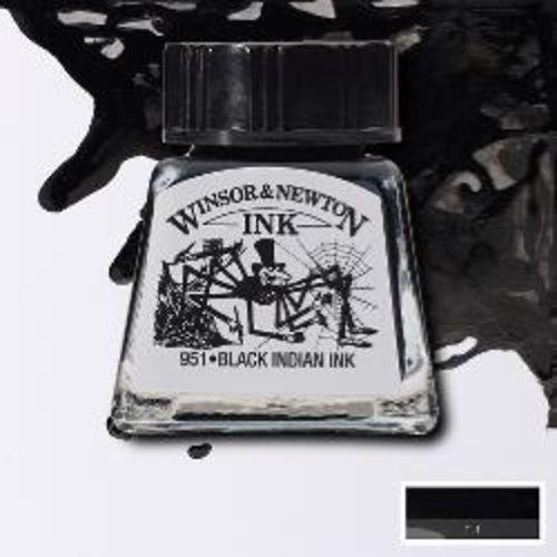 Winsor & Newton Winsor & Newton Ink 14ml Black (Indian)
