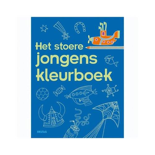 Kleurboek Stoere Jongens