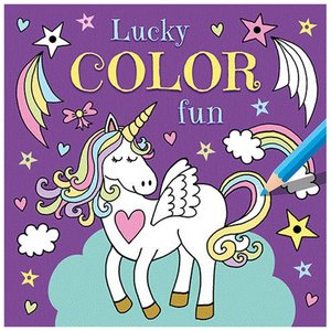 Kleurboek Lucky Color Fun Unicorn
