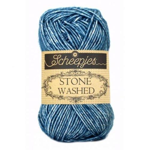 Scheepjeswol Scheepjes Stone Washed 50 gr - 805 Blue Apatite