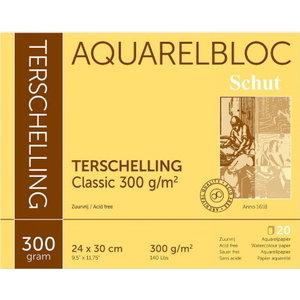 Schut Terschelling Schut Terschelling Aquarelblok Classic 24x30cm 300 gram 20 vel