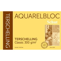 Schut Terschelling Aquarelblok Classic 30x30cm 300 gram 20 vel