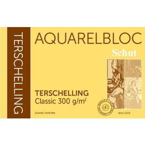 Schut Terschelling Schut Terschelling Aquarelblok Classic 30x30cm 300 gram 20 vel