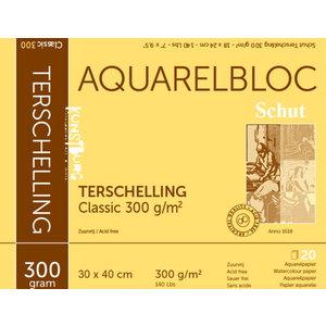 Schut Terschelling Schut Terschelling Aquarelblok Classic 40x50cm 300 gram 20 vel