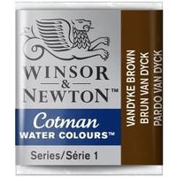W&N Cotman Waterverf Half Napje VANDYKE BROW