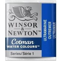 W&N Cotman Waterverf Half Napje ULTRAMARINE