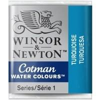 W&N Cotman Waterverf Half Napje TURQUOISE