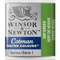 W&N Cotman Waterverf Half Napje SAP GREEN