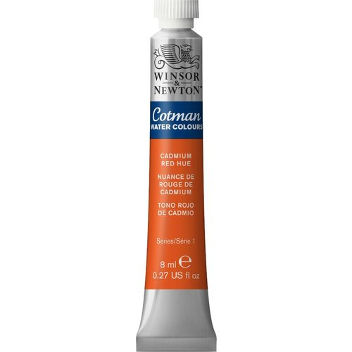 Winsor & Newton W&N Cotman Water Color 8 ML CAD RED HUE