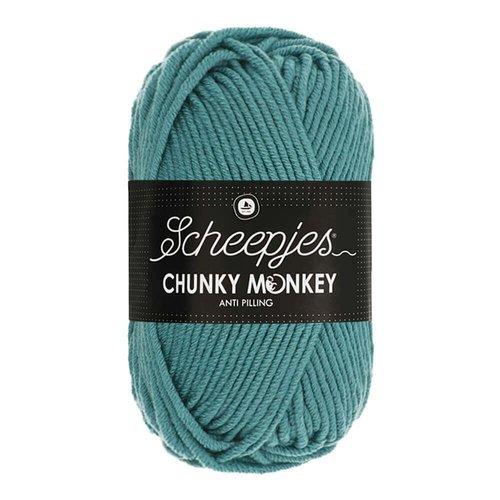 Scheepjeswol Scheepjes Chunky Monkey 100 gram 1722 Carolina Blue