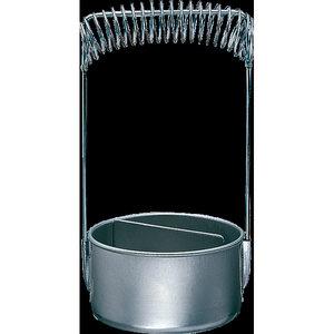 Ami Penselen Spoelbakje Aluminium 10 cm