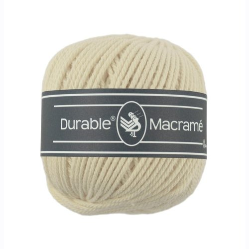 Durable Durable Macramé 100 gram Cream 2172