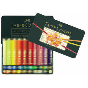 Faber Castell FC kleurpotlood Polychromos 3,8mm kerndikte blik à 120 stuks