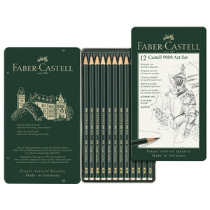 Faber Castell Potlood Faber Castell 9000 Art Set