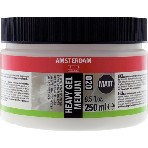 Amsterdam Amsterdam Heavy Gel Medium Mat 250 ml
