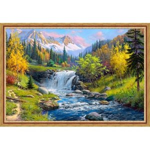 Artibalta Diamond Painting Mountain Creek AZ-1821