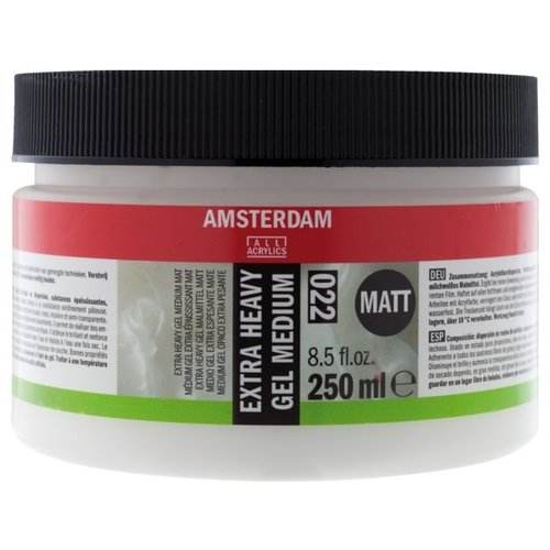 Amsterdam Amsterdam Extra Heavy Gel Medium Mat 250 ml