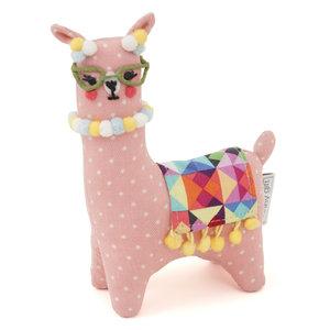 Vervaco Speldenkussen Knitting Alpacas