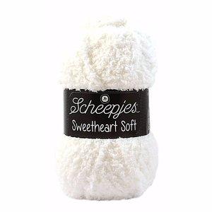 Scheepjeswol Scheepjes Sweetheart soft wit 020