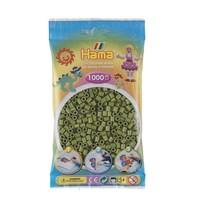 Hama midi strijkkralen olijfgroen nr 84 1000 stuks