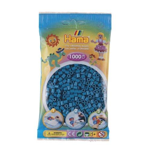 Hama Hama midi strijkkralen Petroleum blauw nr 83 1000 stuks