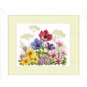 Vervaco Vervaco telpakket bloemenveld met 0143721