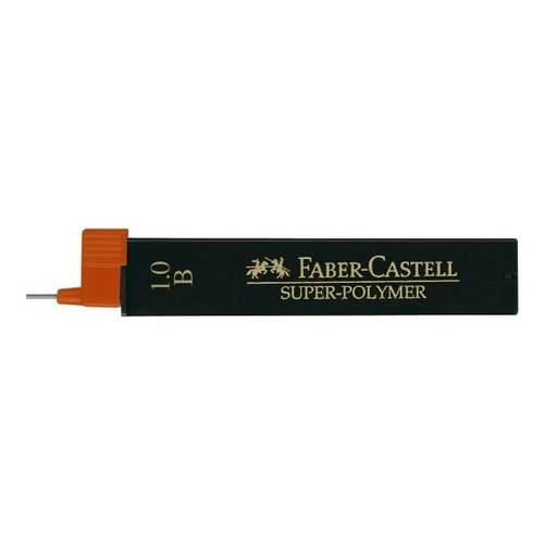 Faber Castell potloodstiftjes Faber Castell Super-Polymer 1,0mm B