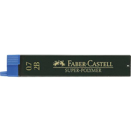 Faber Castell potloodstiftjes Faber Castell Super-Polymer 0,7mm 2B