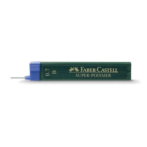 Faber Castell potloodstiftjes Faber Castell Super-Polymer 0,7mm B