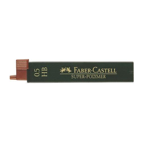 Faber Castell potloodstiftjes Faber Castell Super-Polymer 0,5mm HB