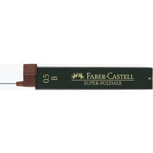 Faber Castell potloodstiftjes Faber Castell Super-Polymer 0,5mm B