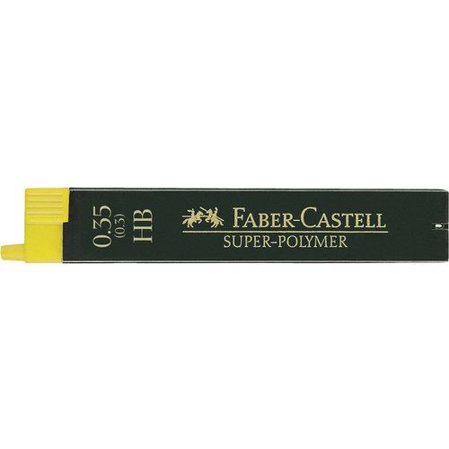 Faber Castell potloodstiftjes Faber Castell Super-Polymer 0,35mm HB