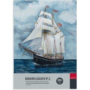 Aquarel Blok No.2 17 x 24 cm 300 gram 20 vel