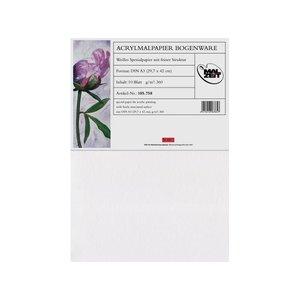 Acryl papier A3 360 gram 10 vellen