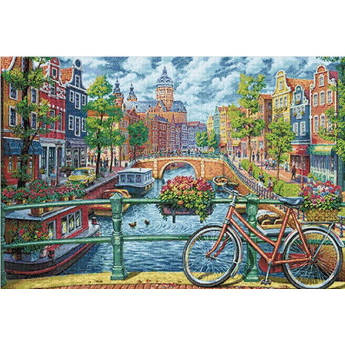 Wizardi Diamond Painting Amsterdam WD2501