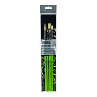 Liquitex Free Style 4 Green Brushes Set