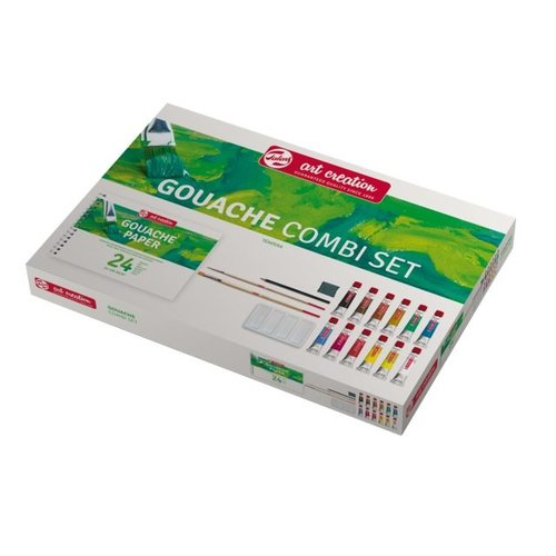 Art Creation Talens Art Creation Combi set Gouache Plakaatverf 12x12 ml