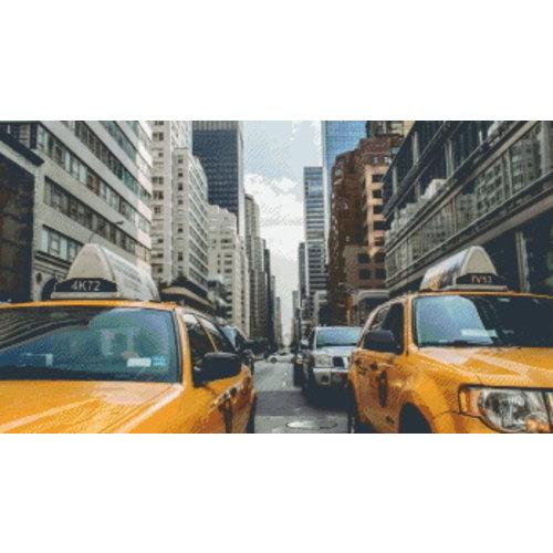 PixelHobby Pixelhobby Patroon 5592 Taxi New York