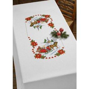 Permin Permin Borduurpakket Tafelkleed Kerst 58-7277