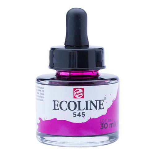 Ecoline Ecoline Vloeibare Waterverf Flacon 30 ml Roodviolet 545