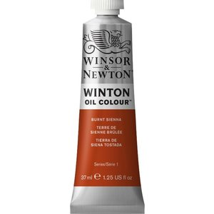Winsor & Newton Winton Olieverf 37 ml Burnt Sienna