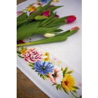 Vervaco Tafelkleed Kleurige Bloemen 0183789