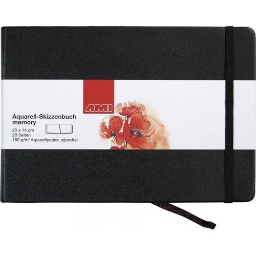 Ami Ami Aquarelboek Memory 180 gram 20 x14 cm