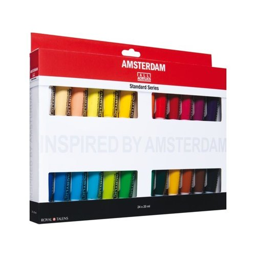 Amsterdam Amsterdam Acrylverf Standaard set 24 x 20 ml