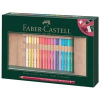 Roletui Faber-Castell Polychromos potloden 30 stuks