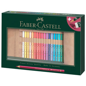 Faber Castell Roletui Faber-Castell Polychromos potloden 30 stuks
