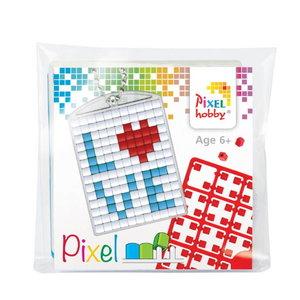 PixelHobby Pixelhobby Medaillon Startset Love 23036