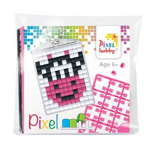PixelHobby Pixelhobby Medaillon Startset Smiling Cow 23039