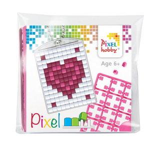 PixelHobby Pixelhobby Medaillon Startset Hartje 23040
